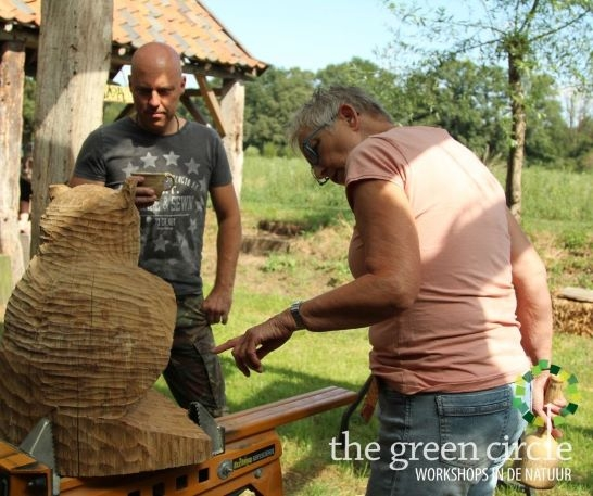 Oerkracht 2019 Beeldhouwen The Green Circle - Workshops in de Natuur klein met logo 10