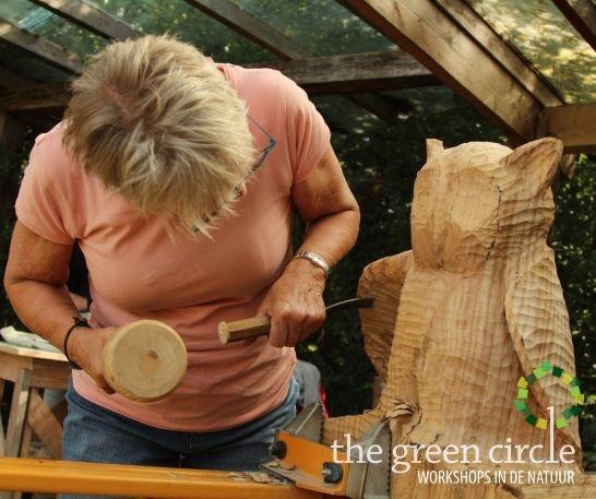 Oerkracht 2019 Beeldhouwen The Green Circle - Workshops in de Natuur klein met logo 11