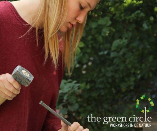 Oerkracht 2019 Beeldhouwen The Green Circle - Workshops in de Natuur klein met logo 13