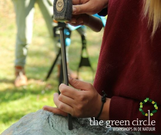 Oerkracht 2019 Beeldhouwen The Green Circle - Workshops in de Natuur klein met logo 5