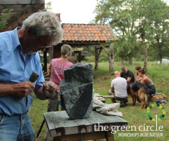 Oerkracht 2019 Beeldhouwen The Green Circle - Workshops in de Natuur klein met logo 9