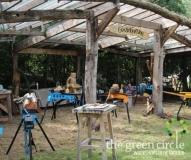 Oerkracht 2019 Beeldhouwen The Green Circle - Workshops in de Natuur klein met logo 1