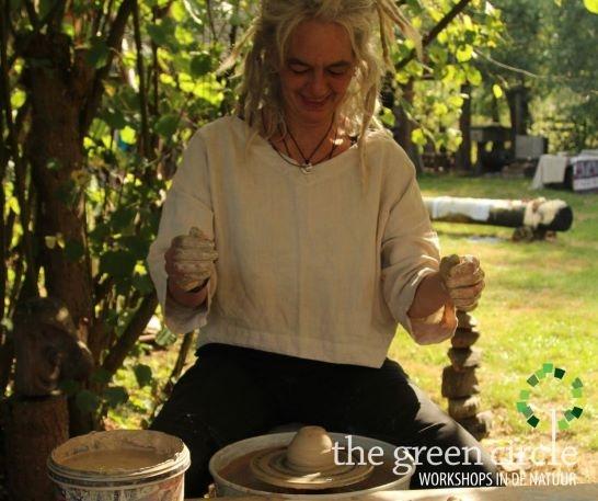 Oerkracht 2019 Keramiek The Green Circle - Workshops in de Natuur 10