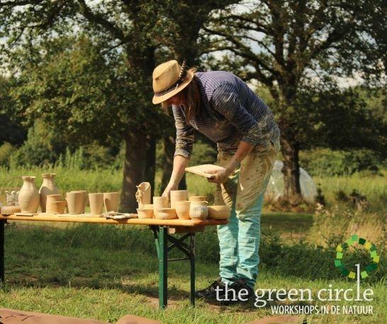 Oerkracht 2019 Keramiek The Green Circle - Workshops in de Natuur 13