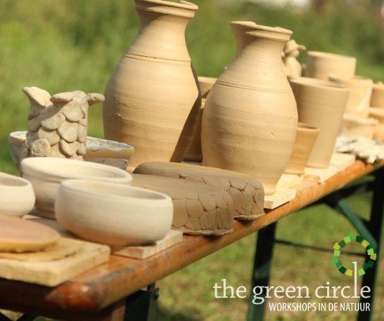 Oerkracht 2019 Keramiek The Green Circle - Workshops in de Natuur 14