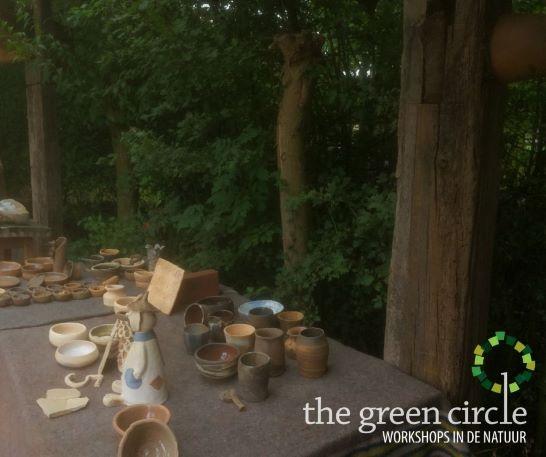 Oerkracht 2019 Keramiek The Green Circle - Workshops in de Natuur 17