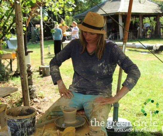 Oerkracht 2019 Keramiek The Green Circle - Workshops in de Natuur 7