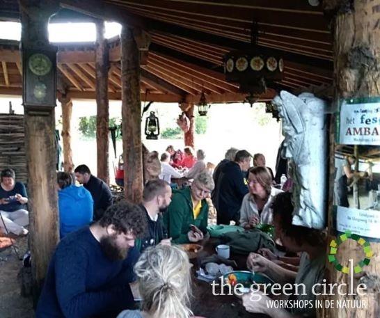 Oerkracht 2019 Oerkoken The Green Circle - Workshops in de Natuur klein met logo 12