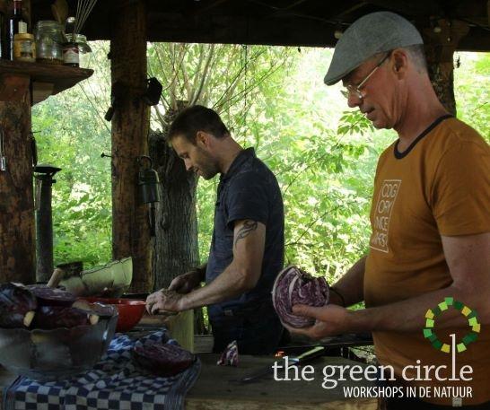 Oerkracht 2019 Oerkoken The Green Circle - Workshops in de Natuur klein met logo 9