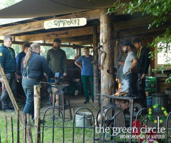 Oerkracht 2019 Smeden The Green Circle - Workshops in de Natuur klein met logo 1