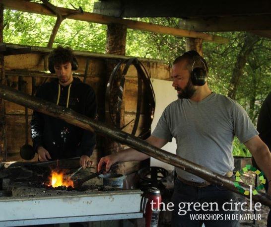 Oerkracht 2019 Smeden The Green Circle - Workshops in de Natuur klein met logo 14
