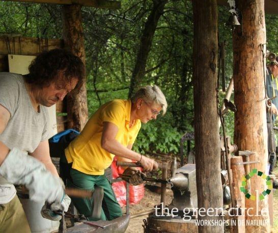 Oerkracht 2019 Smeden The Green Circle - Workshops in de Natuur klein met logo 16