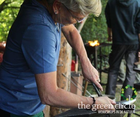 Oerkracht 2019 Smeden The Green Circle - Workshops in de Natuur klein met logo 17