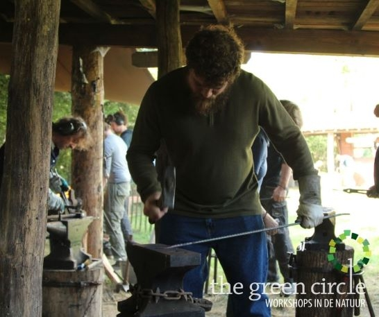 Oerkracht 2019 Smeden The Green Circle - Workshops in de Natuur klein met logo 18