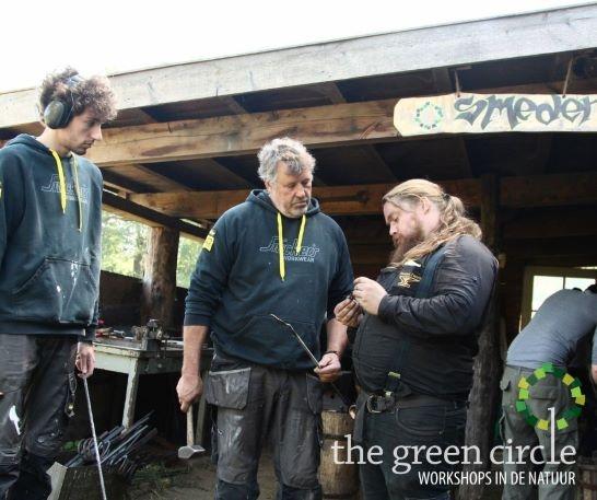 Oerkracht 2019 Smeden The Green Circle - Workshops in de Natuur klein met logo 2