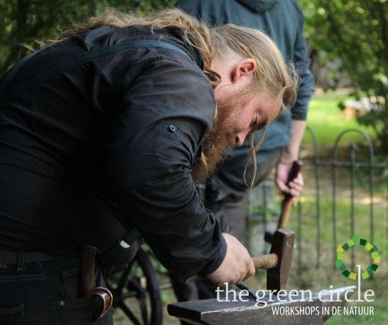 Oerkracht 2019 Smeden The Green Circle - Workshops in de Natuur klein met logo 25