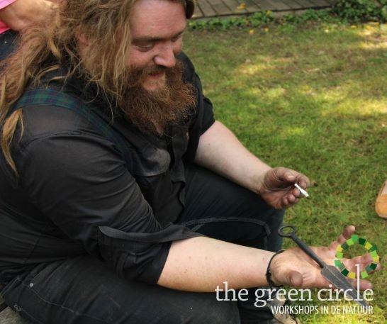 Oerkracht 2019 Smeden The Green Circle - Workshops in de Natuur klein met logo 26