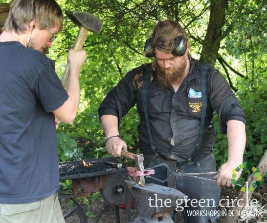 Oerkracht 2019 Smeden The Green Circle - Workshops in de Natuur klein met logo 28