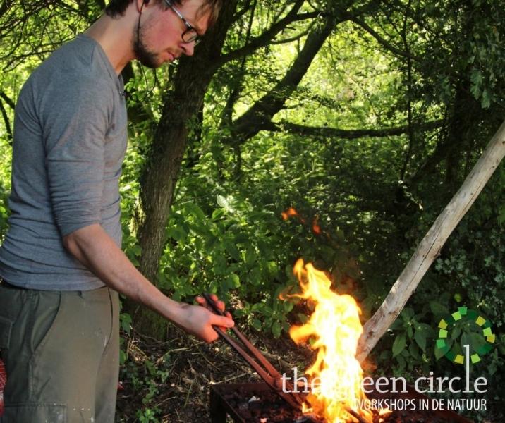 Oerkracht 2019 Smeden The Green Circle - Workshops in de Natuur klein met logo 29