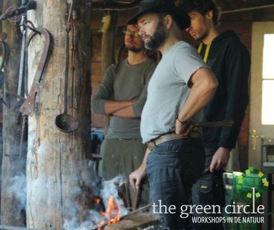 Oerkracht 2019 Smeden The Green Circle - Workshops in de Natuur klein met logo 6