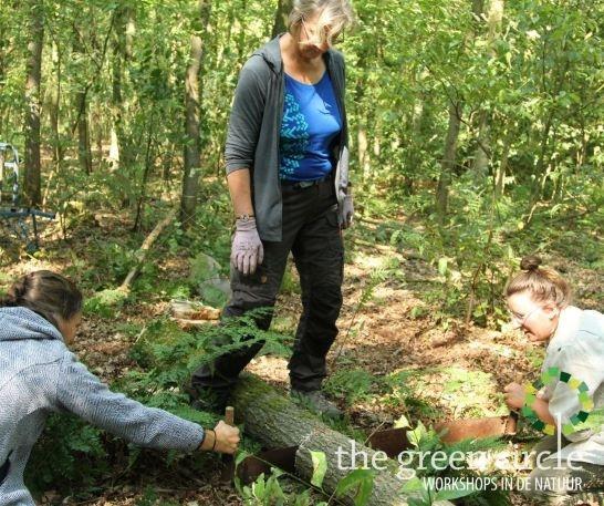Oerkracht 2019 Vers Houtbewerking The Green Circle - Workshops in de Natuur Klein met logo 10