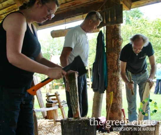 Oerkracht 2019 Vers Houtbewerking The Green Circle - Workshops in de Natuur Klein met logo 15-1