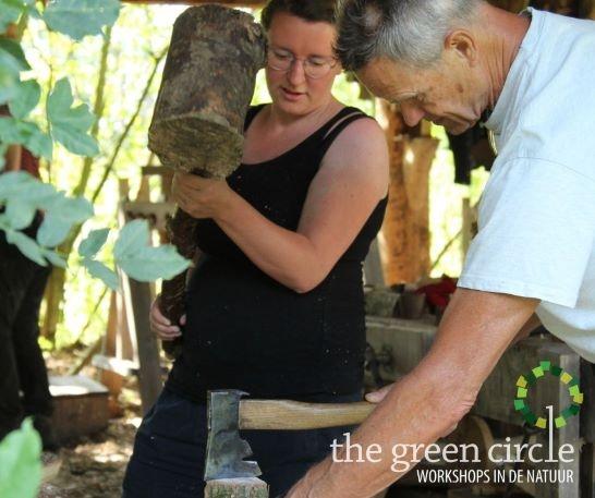 Oerkracht 2019 Vers Houtbewerking The Green Circle - Workshops in de Natuur Klein met logo 15