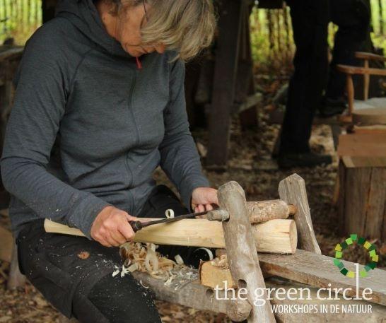 Oerkracht 2019 Vers Houtbewerking The Green Circle - Workshops in de Natuur Klein met logo 18
