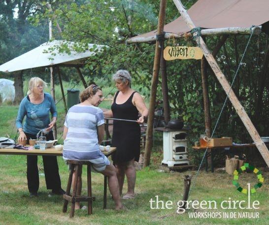 Oerkracht 2019 Vilten The Green Circle - Workshops in de Natuur