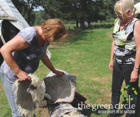 Oerkracht 2019 Vilten The Green Circle - Workshops in de Natuur 13