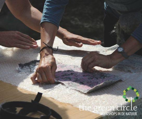 Oerkracht 2019 Vilten The Green Circle - Workshops in de Natuur 8-1