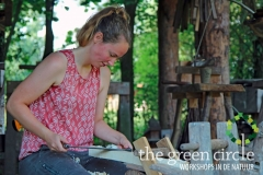 Vers Houtbewerken 1 Oerkracht 2020 The Green Circle - Workshops in de Natuur